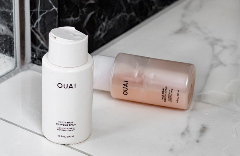OUAI Thick Hair Shampoo & Conditioner review - As Seen by Alex